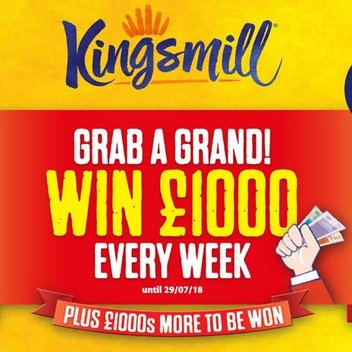 Grab a grand & other prizes from Kingsmill