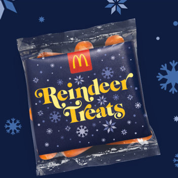 Free reindeer treats on Christmas Eve