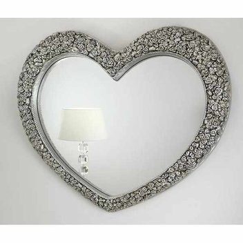 Win an antique silver mirror