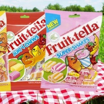 Enjoy free Fruit-tella Sweets