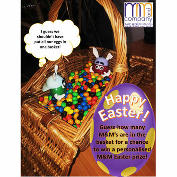 Win an Easter basket of chocolate treats