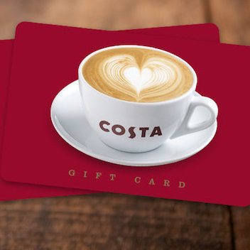Catch a Costa Coffee prize