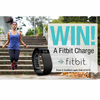 Win a Fitbit Charge