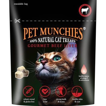 Bag a free set of cat treats from Pet Munchies