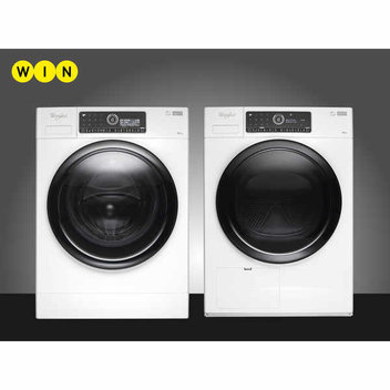 Win a Whirlpool Intelligent washer & dryer worth £1798
