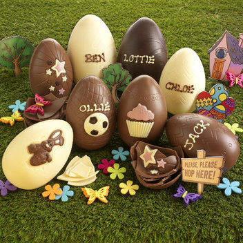 Get your hands on a free chocolate Easter egg