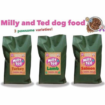 Free Milly & Ted Dog Food samples