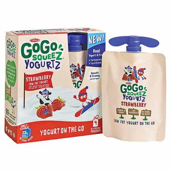 Free GoGo squeeZ Yogurt Pouch