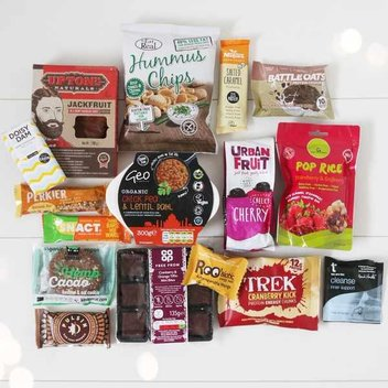 Celebrate Veganuary with a vegan food hamper