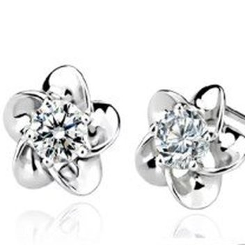 Free Pair of Sparkling Swarovski Crystal Earrings
