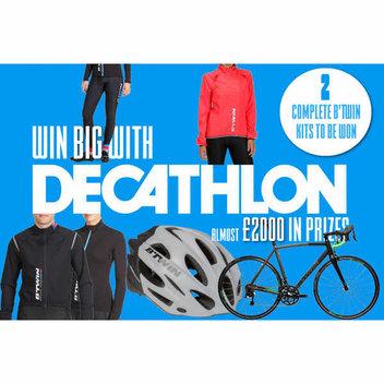 Win a B'Twin Ultra 700 Bike plus clothing worth almost £1000