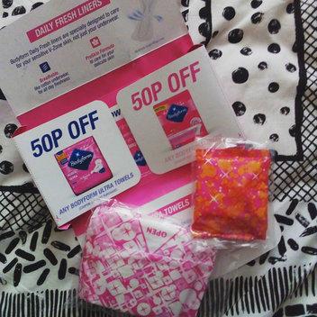 10,000 Bodyform Towel & Liner sample packs available