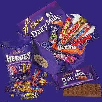 Claim a free Cadbury's Chocolate hamper
