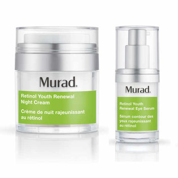 300 Murad Retinol Eye Serum & Night Cream samples up for grabs