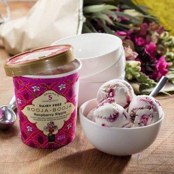 Take home 6 tubs of vegan ice cream from Booja-Booja