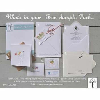 Free Social Stationery Sample Pack