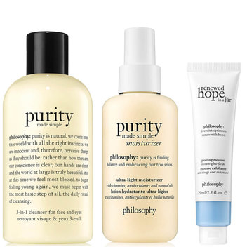 Win the full Hope & Grace Skincare Collection from Philosophy