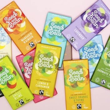 Munch on a delicious chocolate hamper from Seed & Bean