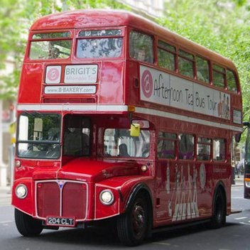Take an Afternoon Tea Bus Tour for free