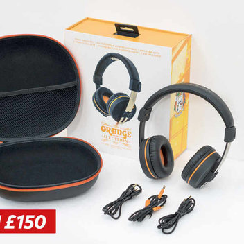 Win a pair of Orange Amplification headphones worth £150