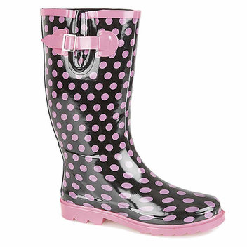 Win a pair of Stormwell Womens Polka Dot Wellingtons