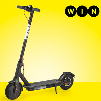 Win 2 Xiaomi e-scooters + £202 of kit from Pure Scooters