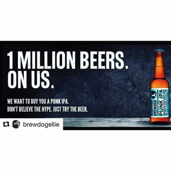 Enjoy a free BrewDog Beer