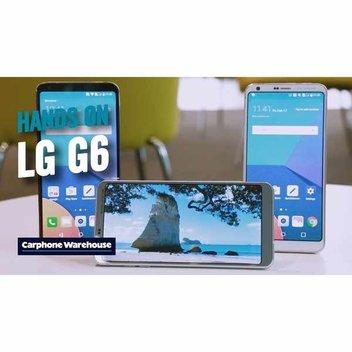 Win a LG G6 smartphone