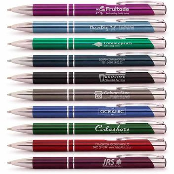 50 free Personalised Pens worth £69.50