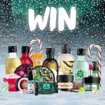 Fill your stockings with over £500 worth of treats from The Body Shop
