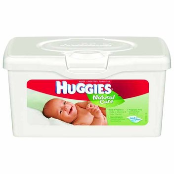 Free pack of Huggies® Baby Wipes