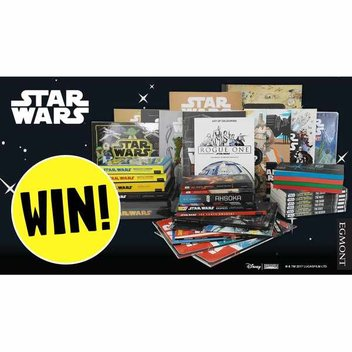 Win 40 Star Wars books with Egmont