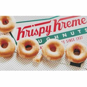 Free Krispy Kreme doughnuts for a smile