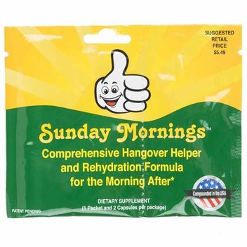Have a free Hangover Helper kit