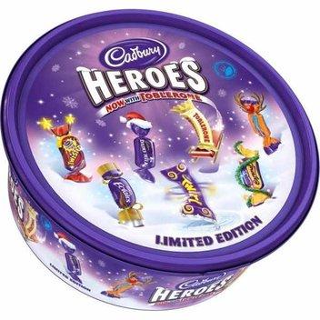 Get a free tub of Cadbury Heroes