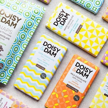 Indulge in a months' worth of Doisy & Dam Chocolate