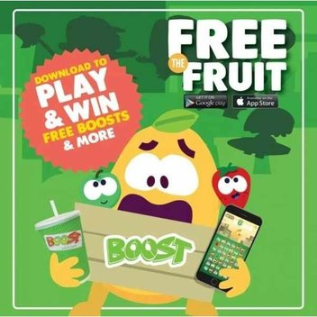 Score a free Boost Smoothie