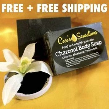 Claim a free Charcoal body soap sample