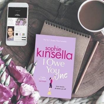 Sophie Kinsella exclusive giveaway