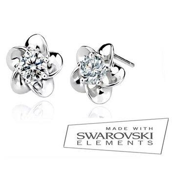 Redeem a free pair of Crystal Flowers earrings