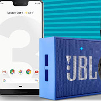 Get a Google Pixel 3 XL & JBL Audio Bundle