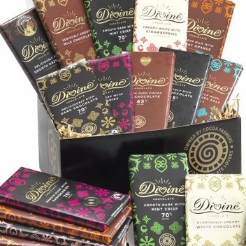 Win a Divine Chocolate Ultimate tasting hamper