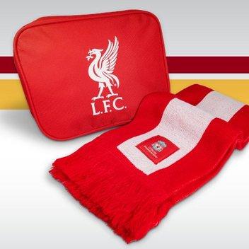 Free LFC Scarf & Travel Bag