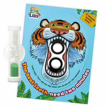 Free Tiger Toothy Timer for Bristol Water Customers