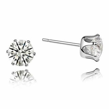 Free Elégance Solitaire earrings