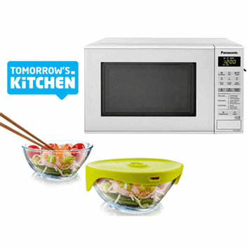 Win a Panasonic microwave & Tomorrow's kitchen steamer