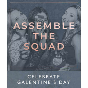 Celebrate Galentine's Day with free drinks