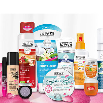 Have a free hamper of Lavera products