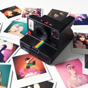 Capture & instantly print your pictures with a free Polaroid OneStep+
