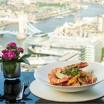 Enjoy luxury stay at the Shangri-La hotel at The Shard, London